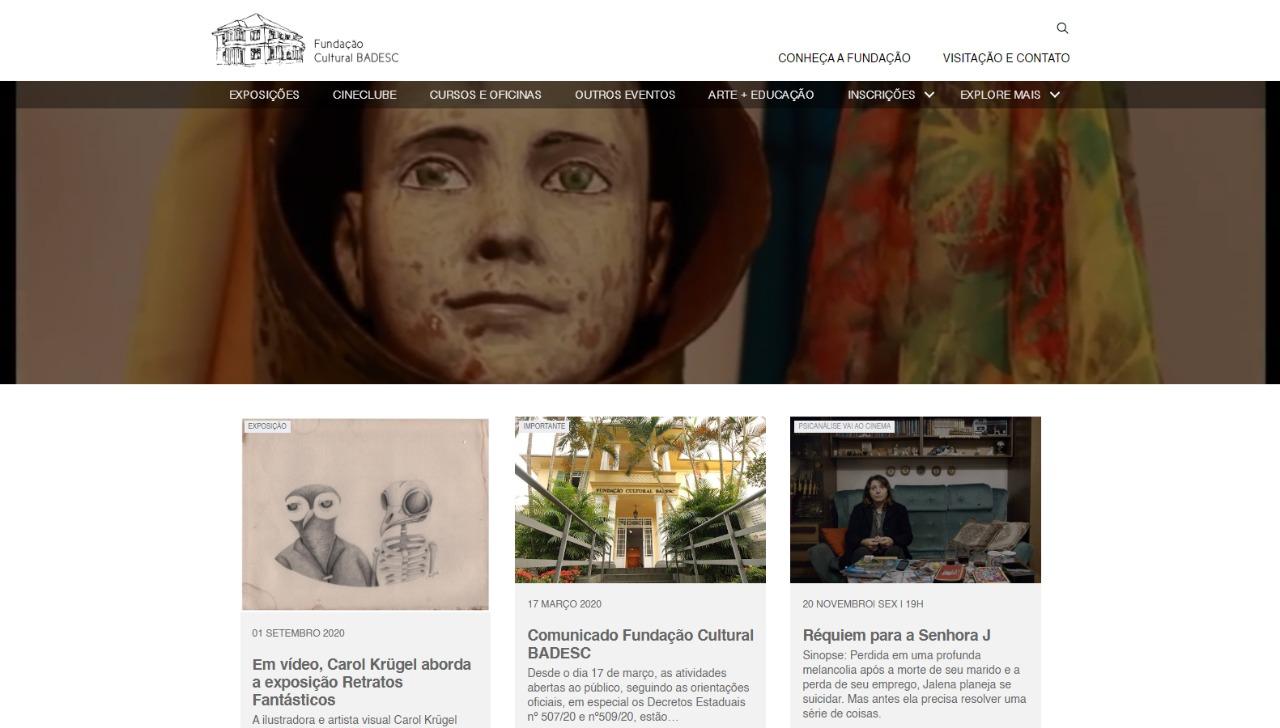 Fundação Cultural BADESC lança espaço de memória e de exposições virtuais