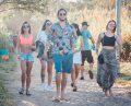 Público chegando no Surf Festival na Praoa Mole (1)