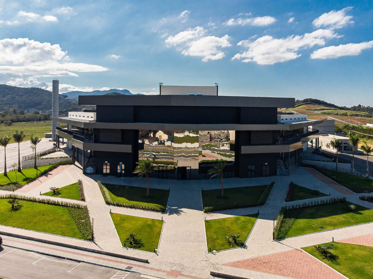 Arena Petry oferece estrutura para possível hospital de campanha