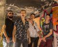 Raphael Faria, Thiago Mates, Rafael Pollmann e André Guesser integram a Stella Folks – crédito Moysés Lavagnoli